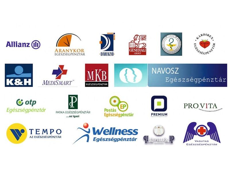 Egészségpénztárak listája